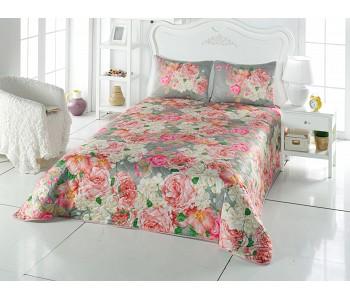 Çift Taraflı Yatak Örtüsü Rose Mix