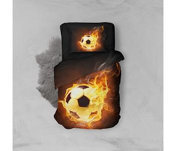 Armodi 3D Tek Kişilik Nevresim Takımı Hot Football