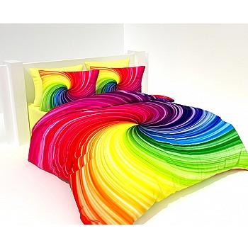 Armodi 3D Çift Kişilik Nevresim Takımı Colorfull Hypnosis