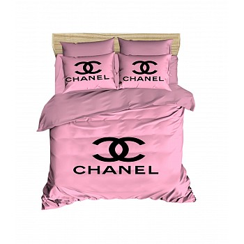 Armodi 3D Çift Kişilik Nevresim Takımı Chanel Pink