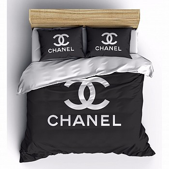 Armodi 3D Çift Kişilik Nevresim Takımı Chanel Black