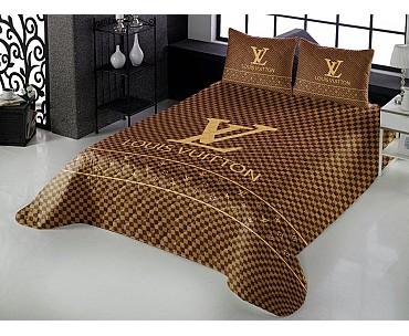 Armodi Çift Kişilik Yatak Örtüsü Louis Vuitton