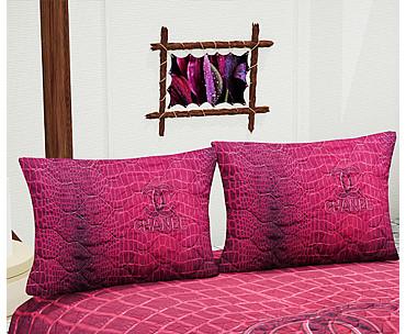 Armodi Çift Kişilik Yatak Örtüsü Pink Skin Chanel