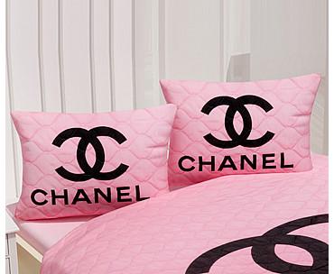 Armodi Çift Kişilik Yatak Örtüsü Chanel Pink