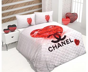 Armodi Çift Kişilik Yatak Örtüsü Diamond Chanel