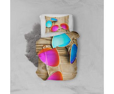 Armodi 3D Tek Kişilik Nevresim Takımı Sunglasses